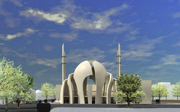 Kölner Zentral Moschee in Germany