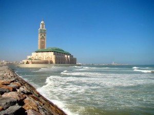 Hassan (II) Mosque in Casablanca – Morocco